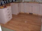 The new kitchen cabinets
