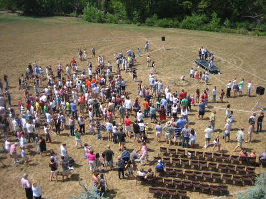 Riverview Church Groundbreaking - New Auditorium - 2007 - 2